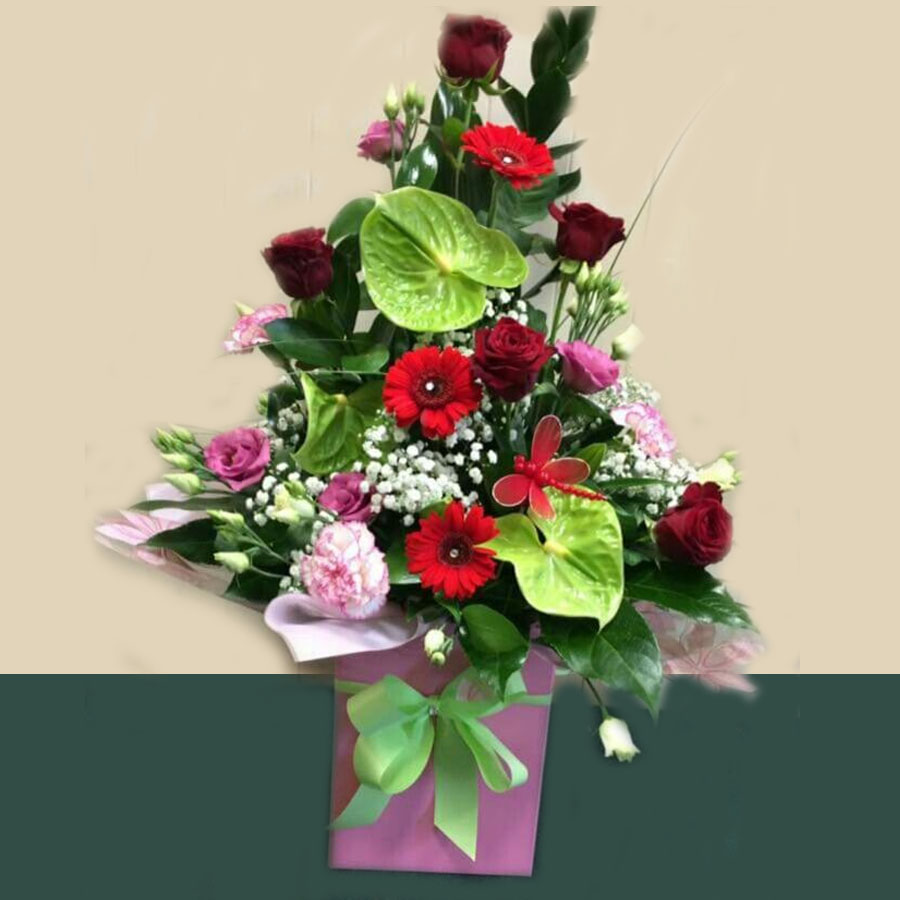 Personalised Flower Bouquets Thornton